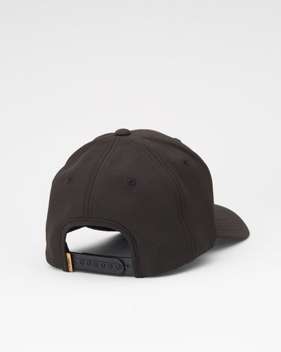 TENTREE Cork Patch Elevation Snapback Hat Meteorite Black