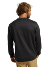 BURTON Oak Crew Sweater True Black Heather MENS APPAREL - Men's Sweaters and Sweatshirts Burton