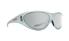 SPY Scoop 2 Metallic Chrome - HD+ Gray Green w/ Silver Spectra Sunglasses