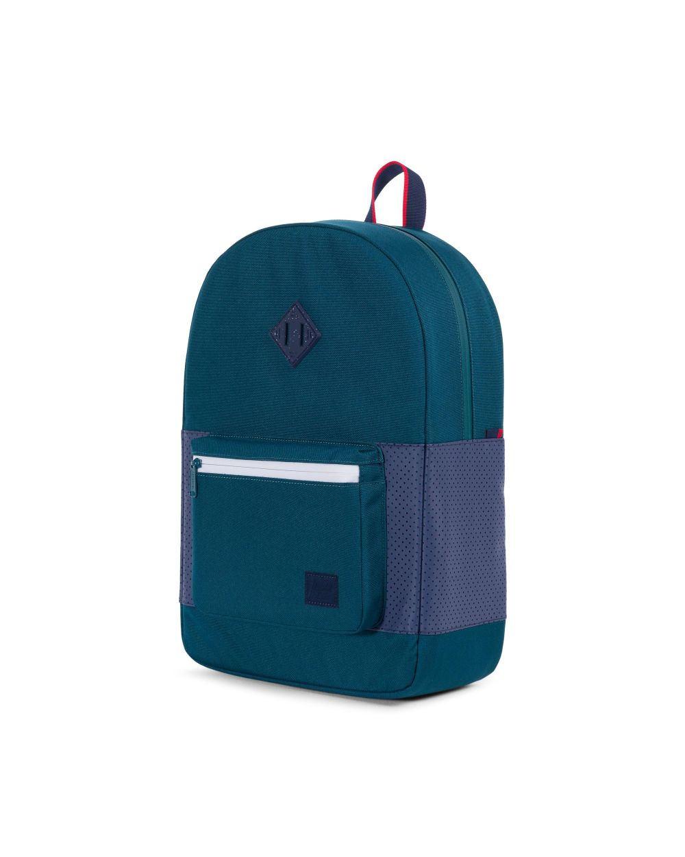 f3d2bab4054 HERSCHEL Ruskin Backpack Deep Teal Peacoat Barbados Cherry - Aspect  Collection