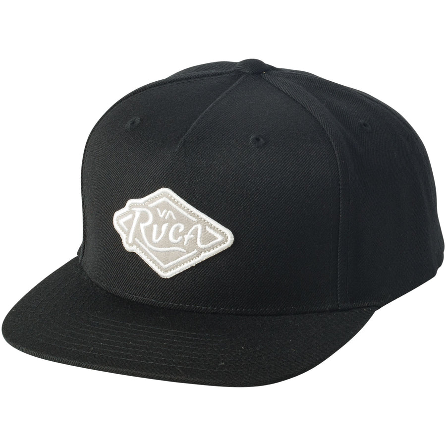 RVCA Script Youth Snapback Black