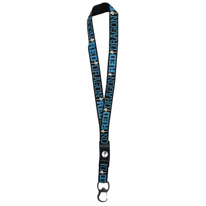RDS Lanyard Black/Worker Blue ACCESSORIES - Lanyards and Keychains RDS