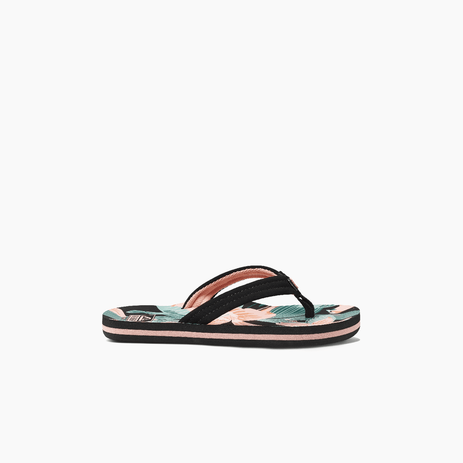 REEF Kids Ahi Sandals Girls Hibiscus FOOTWEAR - Youth Sandals Reef 4/5