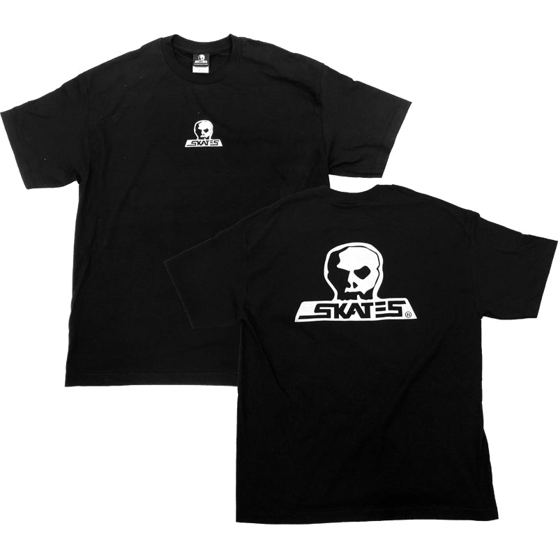 SKULL SKATES Skull Logo T-Shirt Black MENS APPAREL - Men's Short Sleeve T-Shirts Skull Skates