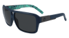 DRAGON The Jam Matte Navy With Tropics - Lumalens Smoke Sunglasses SUNGLASSES - Dragon Sunglasses Dragon