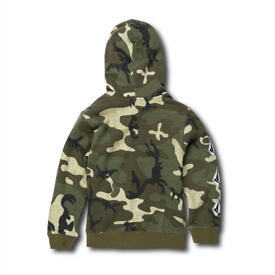 VOLCOM Deadly Stones Zip Hoodie Toddler Camo KIDS APPAREL - Toddler Hoodies Volcom