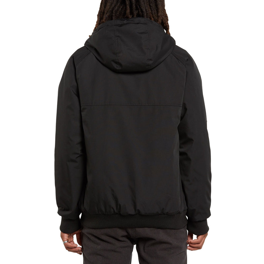 VOLCOM Hernan 5K Jacket Black MENS APPAREL - Men's Street Jackets Volcom