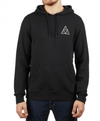 HUF Dystopia Pullover Hoodie Black MENS APPAREL - Men's Pullover Hoodies huf