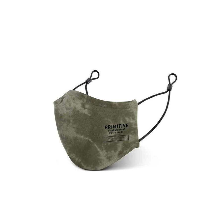 PRIMITIVE Standard Issue Face Mask Army Green ACCESSORIES - Face Mask Primitive