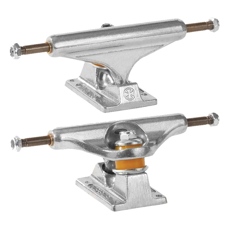 INDEPENDENT Hollow Silver 159 Skateboard Trucks SKATE SHOP - Skateboard Trucks Independent