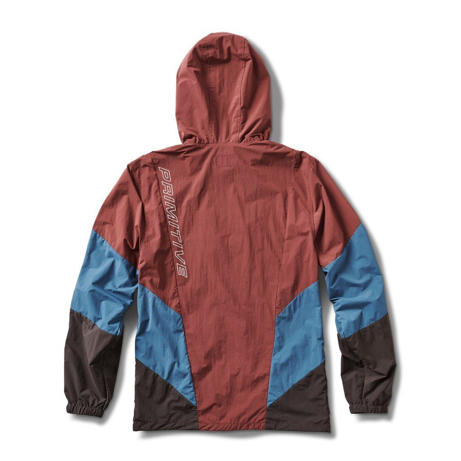 PRIMITIVE Dash Jacket Burgundy MENS APPAREL - Men's Street Jackets Primitive