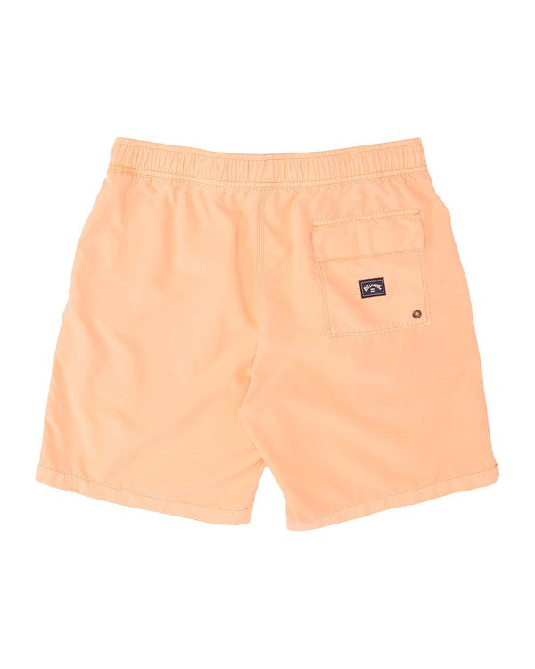 BILLABONG All Day Overdye Layback Boardshorts Neon Melon