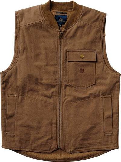 ROARK Farm Hand Vest Khaki MENS APPAREL - Men's Street Jackets Roark Revival