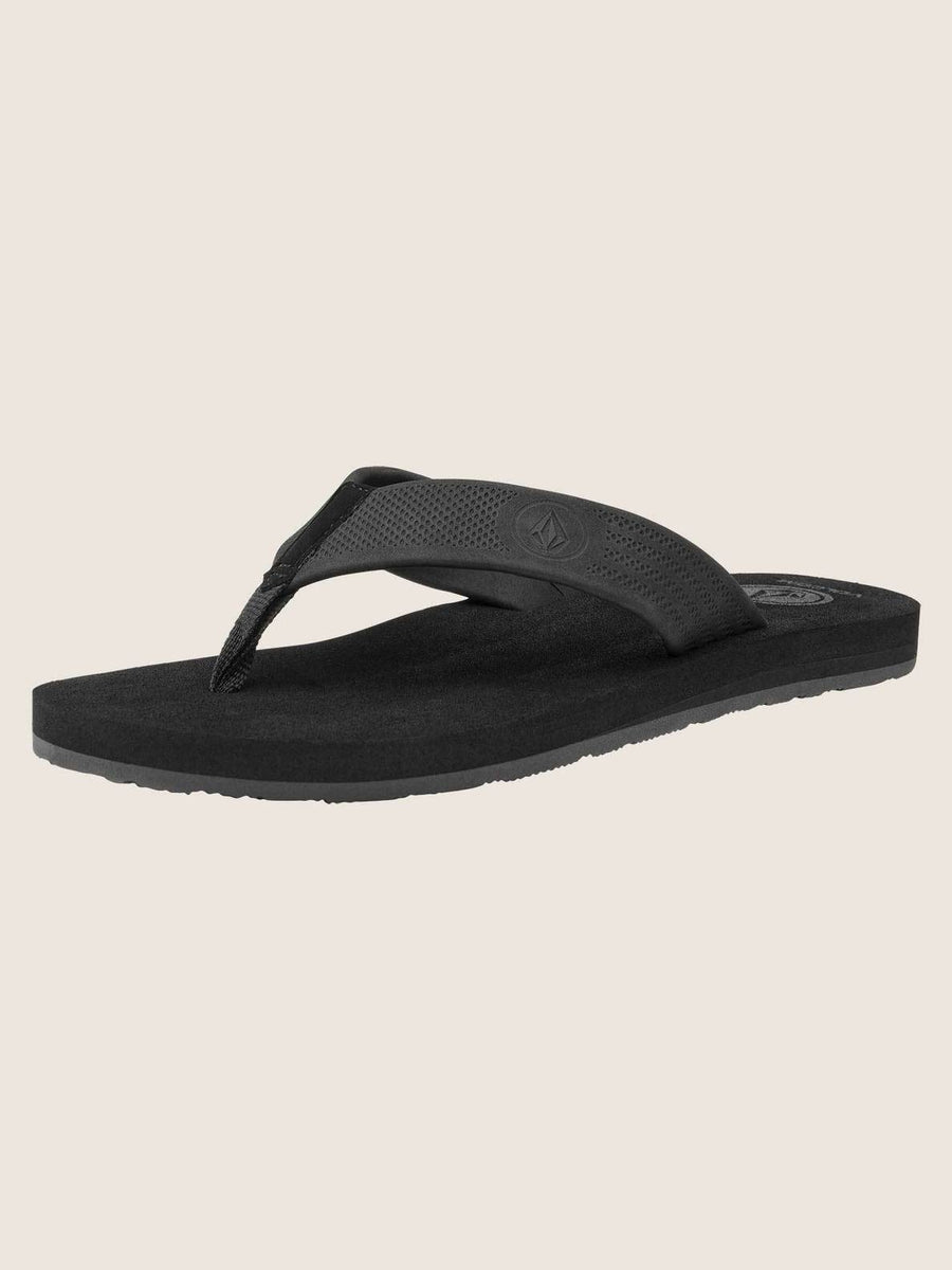 VOLCOM Daycation Sandals Black Destructo FOOTWEAR - Men's Sandals Volcom