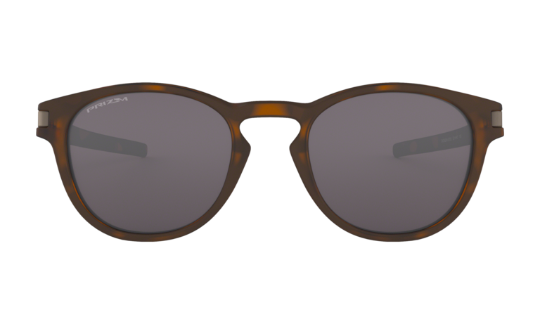 OAKLEY Latch Matte Brown Tortoise - Prizm Grey Sunglasses