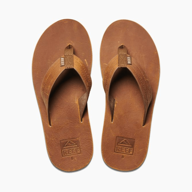 REEF Voyage LE Brown/Bronze Sandals FOOTWEAR - Men's Sandals Reef