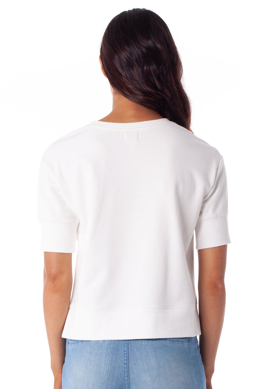 RHYTHM Cleo Pullover Top Women's White