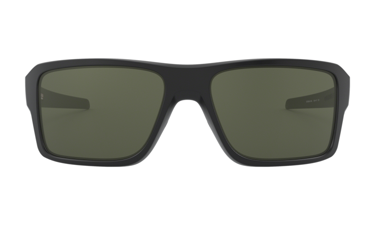 OAKLEY Double Edge Matte Black - Dark Grey Sunglasses