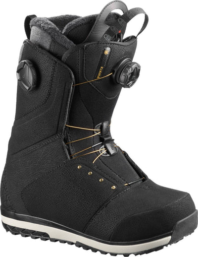 SALOMON Kiana Focus Boa Women's Snowboard Boots Black 2019