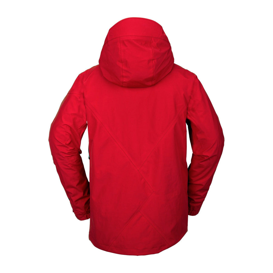 VOLCOM L GORE-TEX Snowboard Jacket Red 2021 MENS OUTERWEAR - Men's Snowboard Jackets Volcom