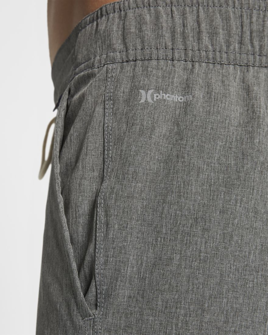 HURLEY Phantom Wasteland Shorts Black Heather