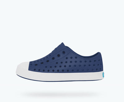 NATIVE Jefferson Child Shoes Regatta Blue/Shell White