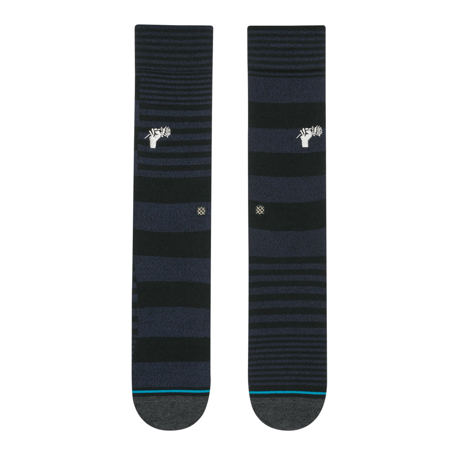 STANCE Power Flower Socks Black