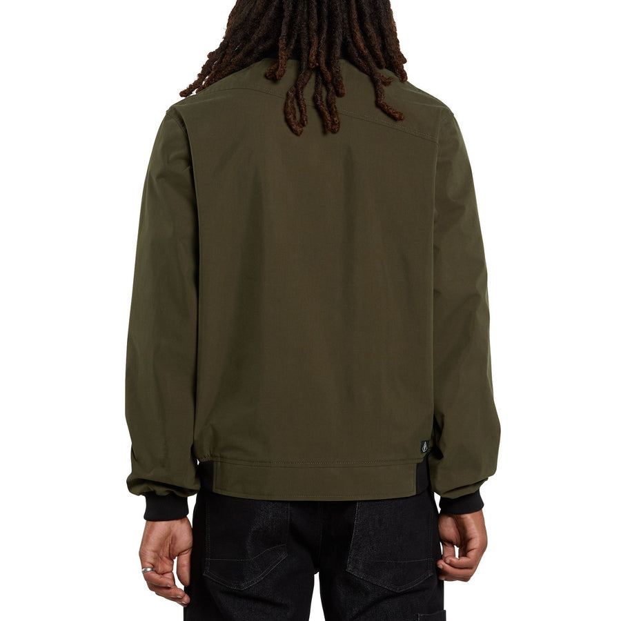 VOLCOM Volcom X Girl Skateboards Jacket Brolive MENS APPAREL - Men's Street Jackets Volcom