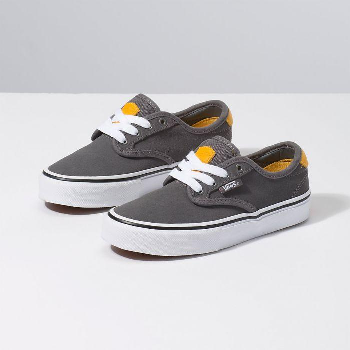 VANS Chima Ferguson Pro Pewter/Mango Mojito Youth Shoes FOOTWEAR - Youth and Toddler Skate Shoes Vans
