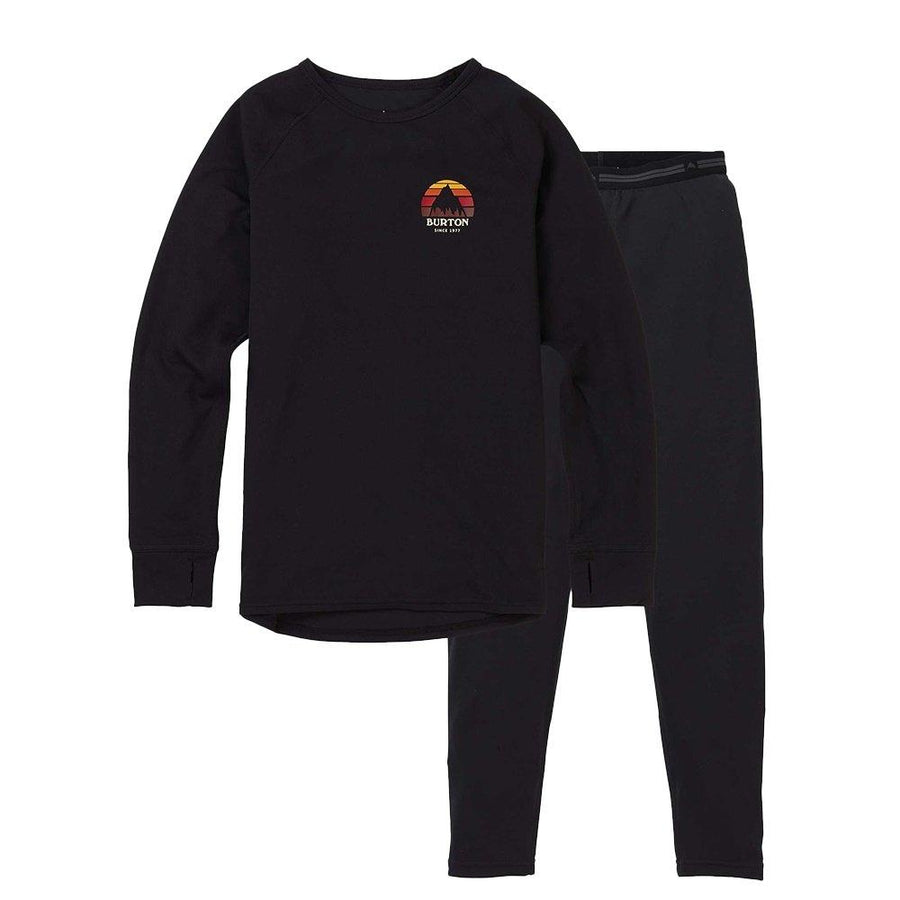 BURTON Lightweight Base Layer Set Kid's True Black