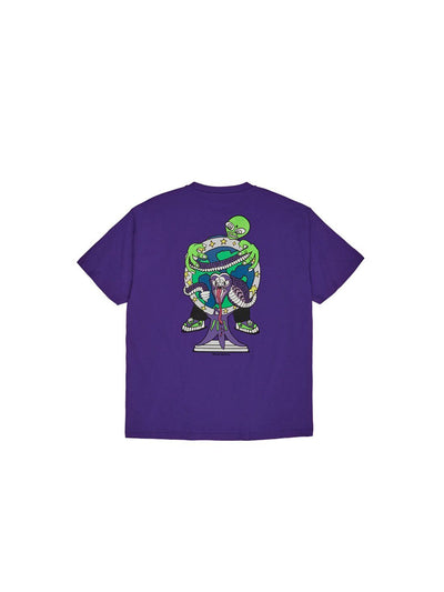 POLAR Alien T-Shirt Blueish Purple