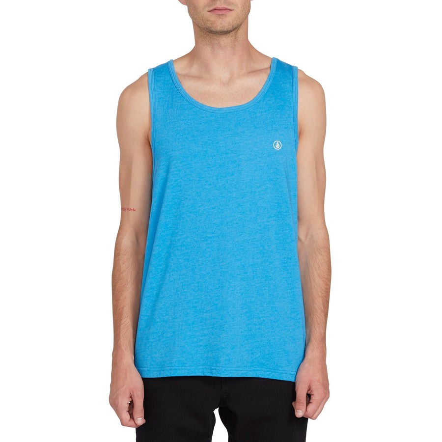 VOLCOM Solid Heather Tank True Blue