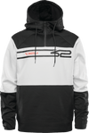 THIRTYTWO Signature Tech Pullover Hoodie Black/White MENS APPAREL - Men's Pullover Hoodies Thirtytwo