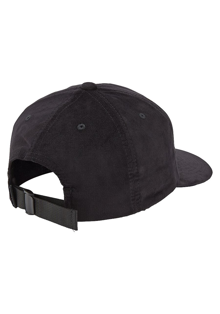 NIXON Seaside Corduroy Strapback Hat Black MENS ACCESSORIES - Men's Baseball Hats Nixon