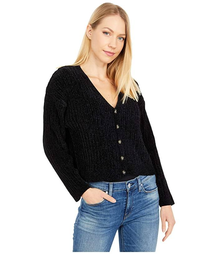 HURLEY Party Cardi Cardigan Women's Black WOMENS APPAREL - Women's Knits and Sweaters Hurley