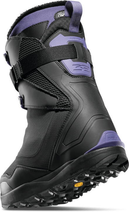 THIRTYTWO TM-2 Jones Women's Snowboard Boots Black/Purple 2021 SNOWBOARD BOOTS - Women's Snowboard Boots Thirtytwo