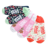 VANS Tropic Canoodle 3 Pack Socks Women's Multi WOMENS APPAREL - Women's Socks Vans