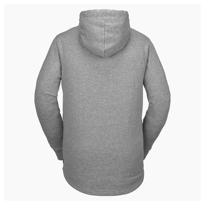 VOLCOM Cowl Pullover Hoodie Heather Grey