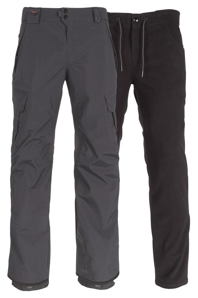 686 Smarty 3-in-1 Cargo Snowboard Pants Charcoal 2021