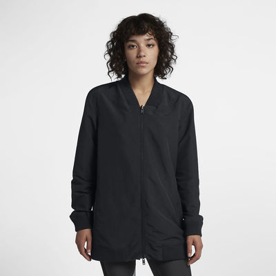 HURLEY Reversible Tunic Bomber Jacket Women's WOMENS APPAREL - Women's Street Jackets Hurley BLACK S
