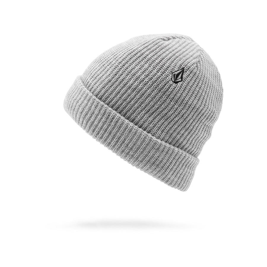 VOLCOM Sweep Lined Beanie Heather Grey MENS ACCESSORIES - Men's Beanies Volcom