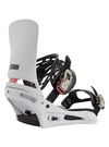 BURTON Cartel Re:Flex Snowboard Bindings Miami White 2021