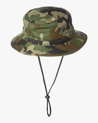 RVCA Rum Bucket Boonie Hat Camo MENS ACCESSORIES - Men's Bucket Hats RVCA