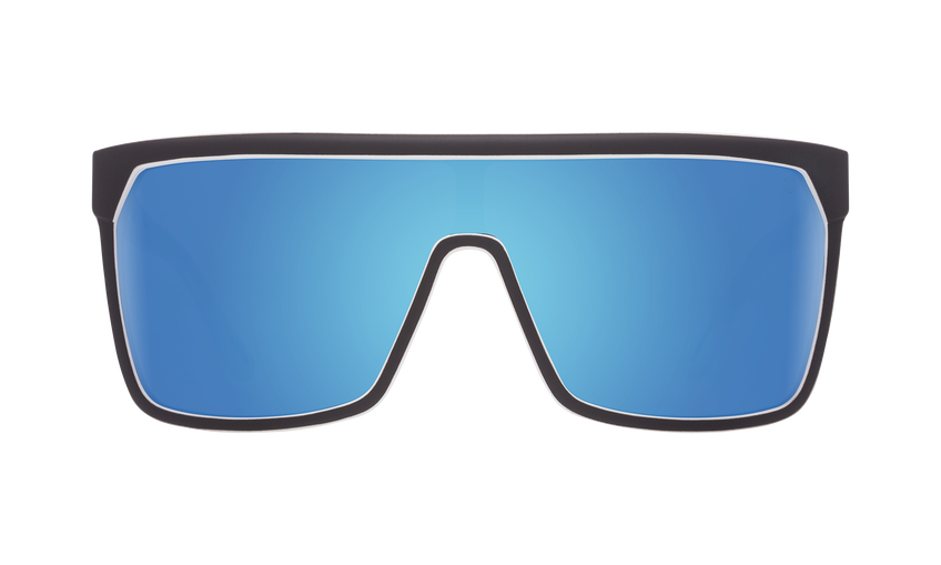a5814aa1ee SPY Flynn Whitewall - Happy Grey Green w  Light Blue Spectra Sunglasses