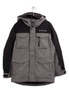 BURTON Covert Snowboard Jacket Boys Bog Heather/True Black 2021 YOUTH INFANT OUTERWEAR - Youth Snowboard Jackets Burton