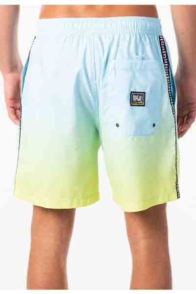 "RIP CURL Native 17"" Volley Boardshorts Blue MENS APPAREL - Men's Boardshorts Rip Curl"