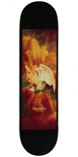 REAL Donnelly Praying Fingers 8.06 Skateboard Deck SKATE SHOP - Skateboard Decks Real