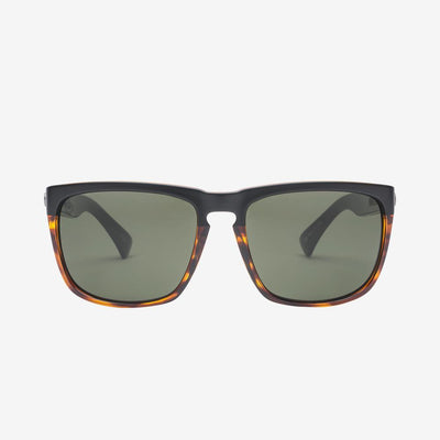 ELECTRIC Knoxville XL Darkside Tort - Ohm Grey Sunglasses SUNGLASSES - Electric Sunglasses Electric