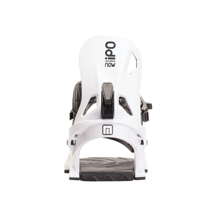 NOW IPO Snowboard Bindings White 2020
