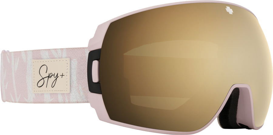 SPY Legacy SE Helen Schettini - HD Plus Bronze with Gold Spectra Mirror + HD Plus LL Persimmon with Silver Spectra Mirror Snow Goggles GOGGLES - Spy Goggles Spy